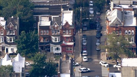 Police were first called to the Nicetown-Tiago neighborhood for drug activity, Capt. Sekou Kinebrew told CNN affiliate KYW.