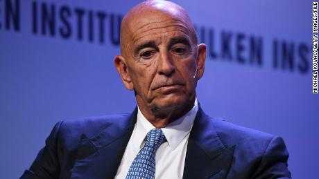 Trump ally Tom Barrack jailed on charges of acting as an agent of a foreign government