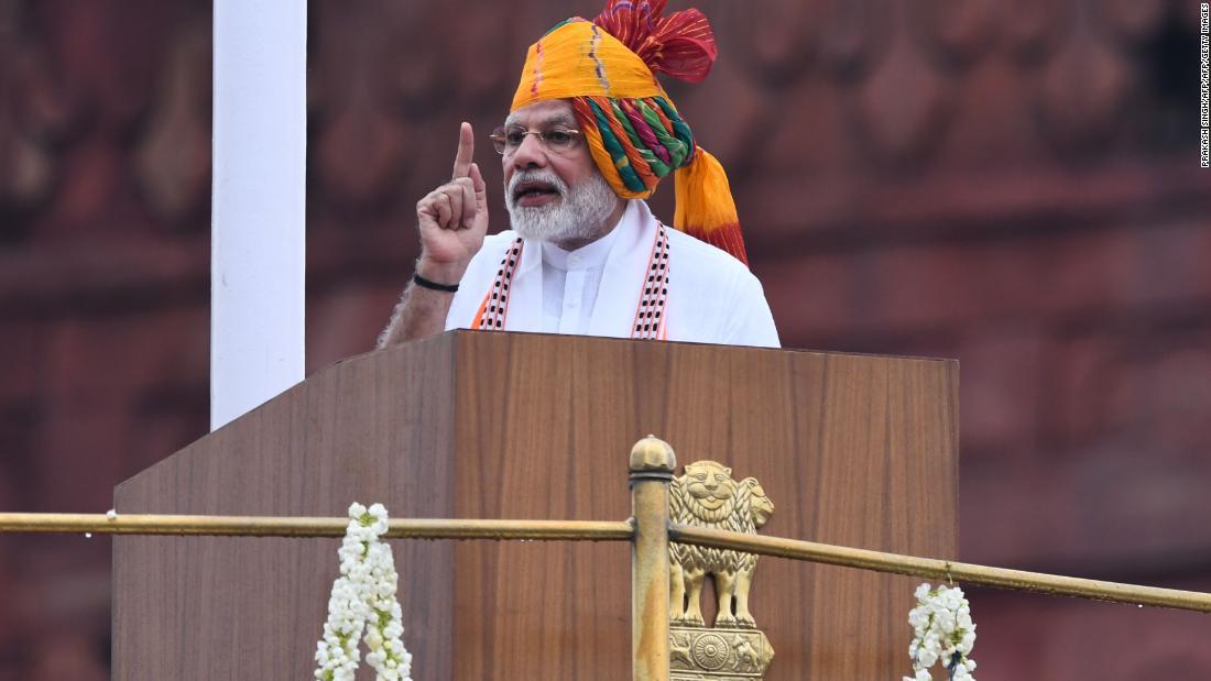 Modi has vowed to ban single-use plastics to fight India's trash crisis
