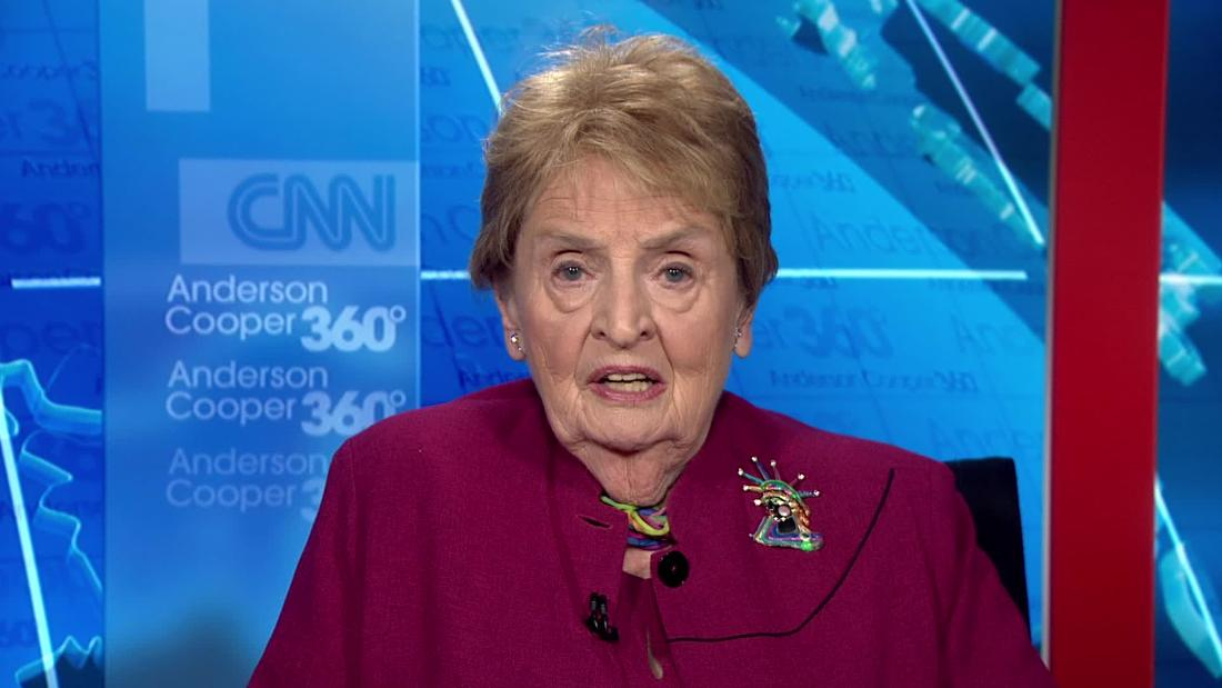 Madeleine Albright on Cuccinelli's comments: 'I think the Statue of Liberty is weeping'