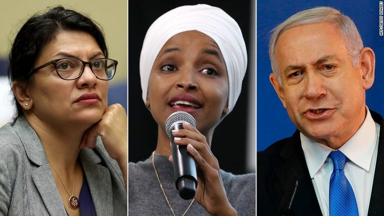 Image result for israel bans congresswomen images