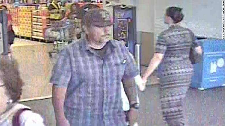 The El Paso Police Department shared this photo asking for help in identifying the man pictured.