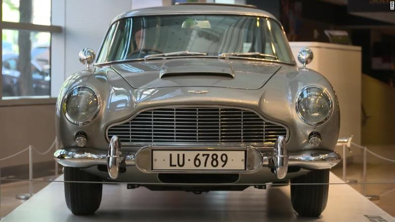 This James Bond Aston Martin Is Up For Auction Cnn Video