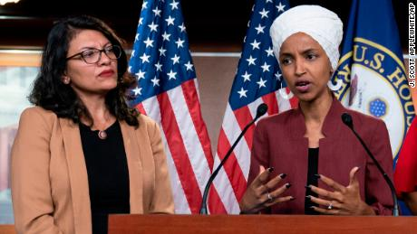 Omar and Tlaib call Israel blocking their entry 'chilling' and 'a sign of weakness'