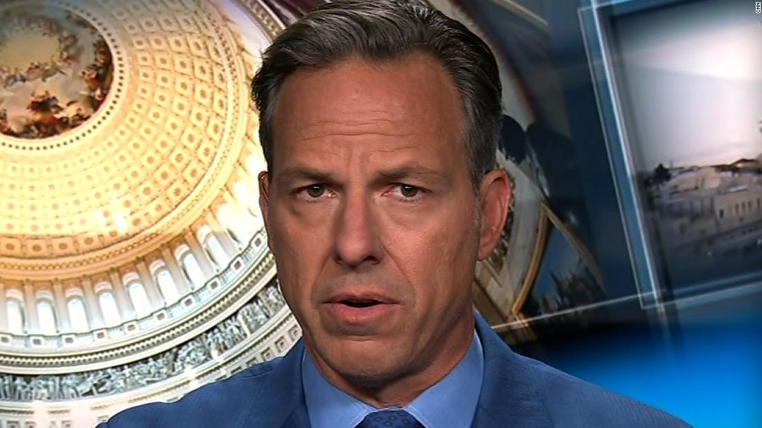 Tapper: We know of no other time this has happened