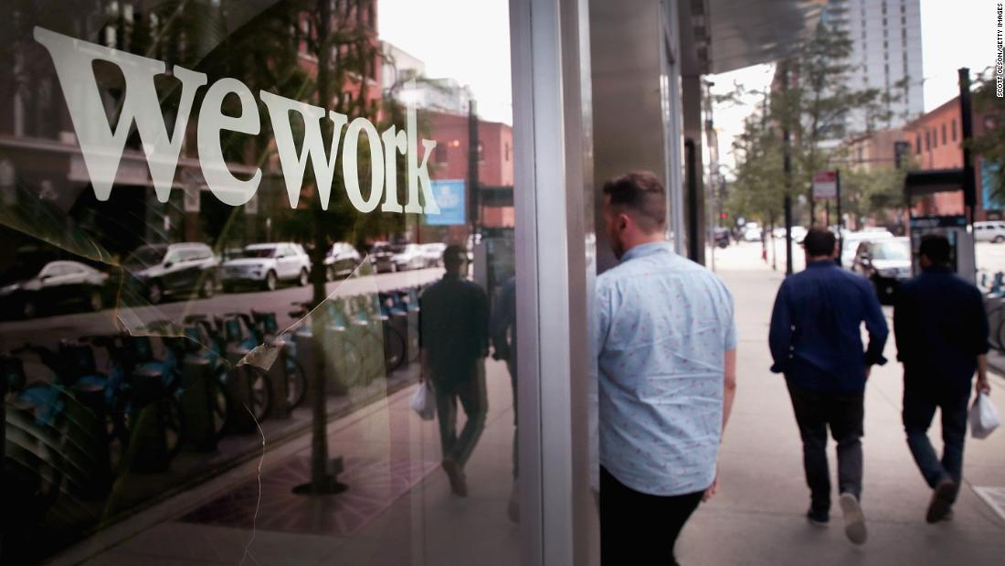 WeWork has become poster child for everything wrong with tech unicorns
