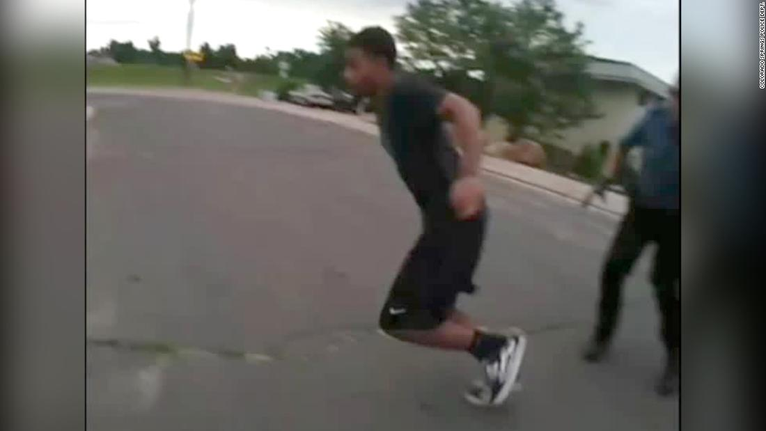 Family of man shot in the back by police in Colorado call for independent investigation