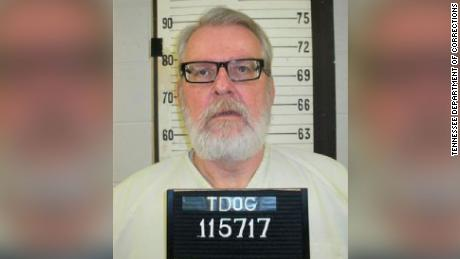 This booking photo released by the Tennessee Department of Corrections shows Stephen West.   West has made a last minute request to be put to death in the electric chair instead of dying by lethal injection. The state Department of Correction on Wednesday, Aug. 14, 2019 confirmed  West made the request ahead of his Thursday execution. He previously opted against selecting a preference, which would have resulted in lethal injection.