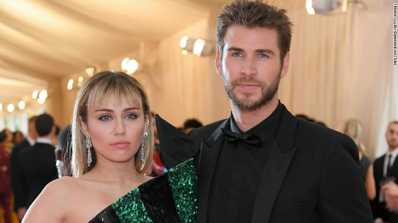 Miley Cyrus only has love for Liam Hemsworth