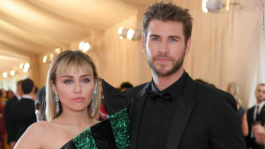 Miley Cyrus only has love for Liam Hemsworth – CNN