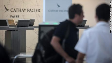 Cathay Pacific lost hundreds of flights this week when protesters targeted the Hong Kong airport.