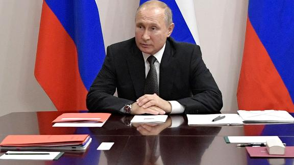 """Russian President Vladimir Putin ordered his military to prepare a """"symmetrical response"""" to a recent US test of a cruise missile."""
