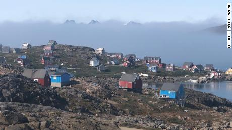 The small village of Kulusuk is located on an island of the same name On the south-east coast of Greenland live around 280 people.