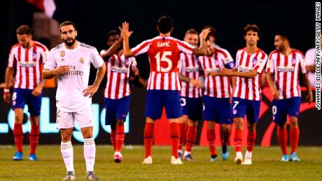 Real Madrid was hammered 7-3 by rival Atletico in preseason.