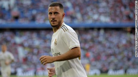Real Madrid will be without the injured Eden Hazard for the first La Liga match of the season.