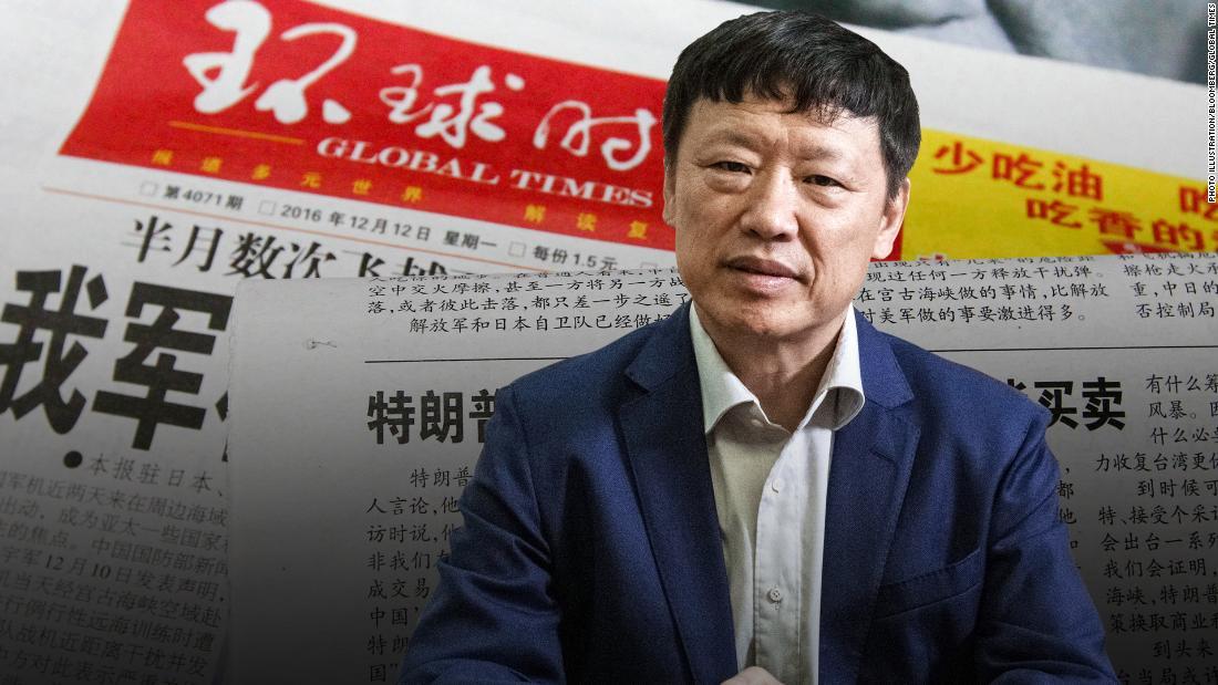 The man taking on Hong Kong from deep inside China's propaganda machine