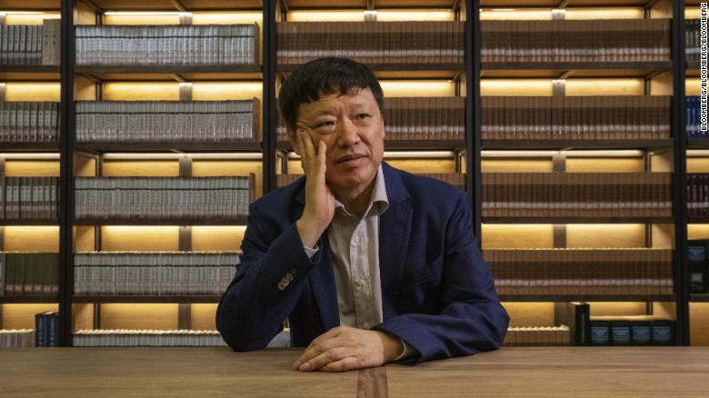 Hu Xijin, editor-in-chief of the Global Times, poses for a photograph in Beijing, China, June, 2019.