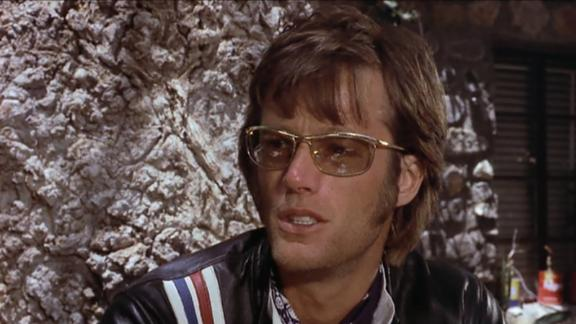 Peter Fonda as Wyatt in Easy Rider.