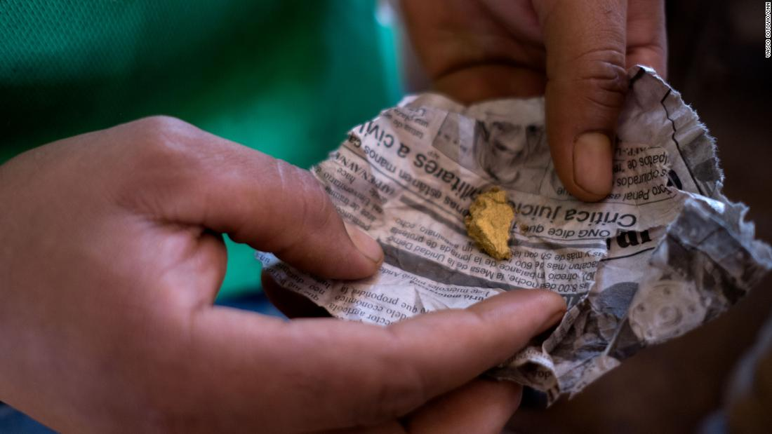 A trail of 'bloody gold' leads to Venezuela's government