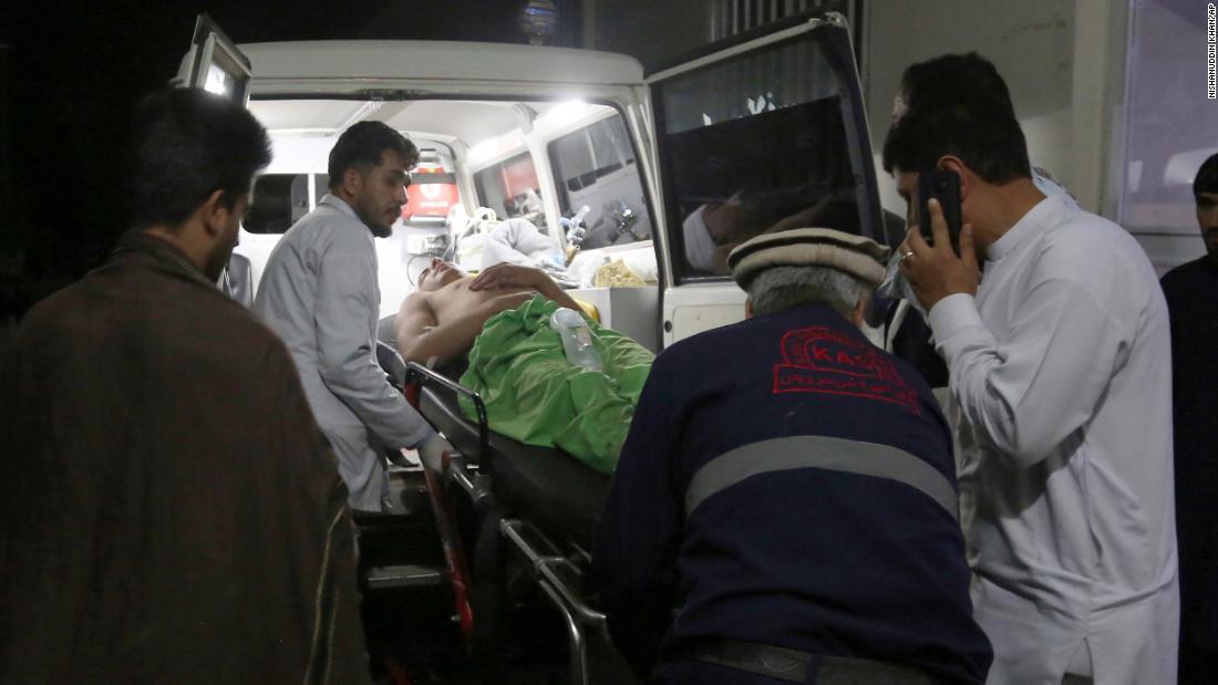 Deadly blast rips through wedding in Afghanistan, killing 63 people