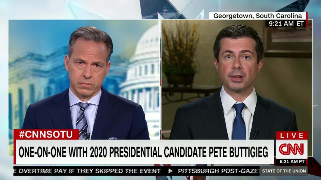 Buttigieg responds to black voters on LGBT issues