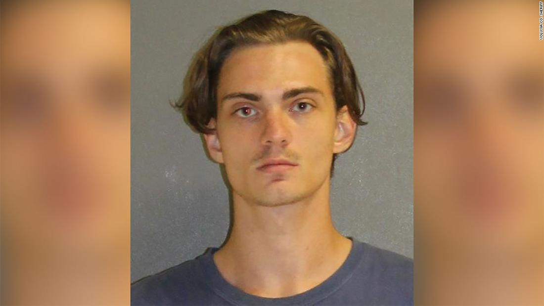 A man was arrested in Florida for threatening to open fire on a large crowd of people