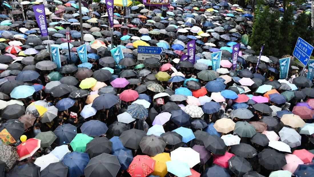 Hong Kong protests send a message Americans can hear loud and clear