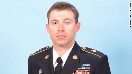 Staff Sgt. Andrew Michael St. John, 29, was a proud father and husband, the Indiana National Guard said.