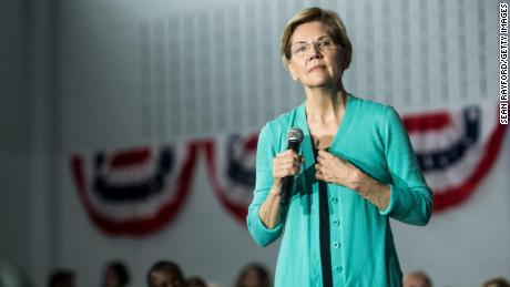 Democratic presidential candidate, Sen. Elizabeth Warren (D-MA) addresses a crowd at a town hall event on August 17, 2019 in Aiken, South Carolina. Warren has held more than ten 2020 campaign events in the early primary state. (Sean Rayford/Getty Images)