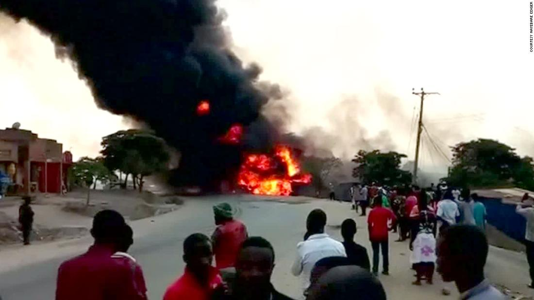 At least 17 dead in Uganda fuel truck explosion