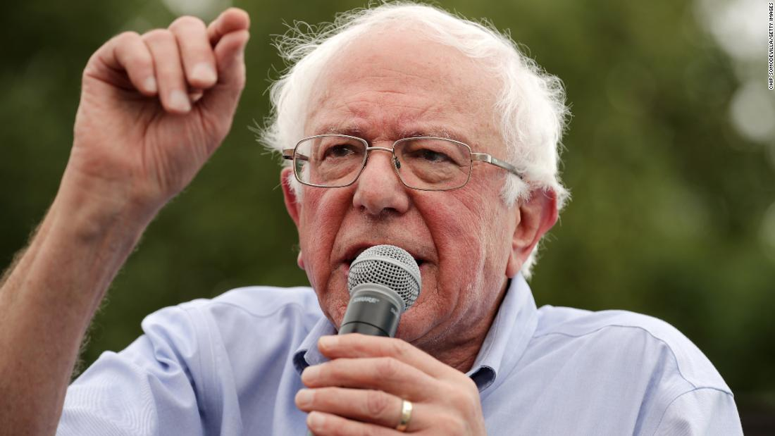Bernie Sanders releases tax plan to target income inequality