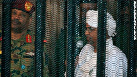 The ex-Sudanese president's cronies tried to break him out of jail ahead of his trial