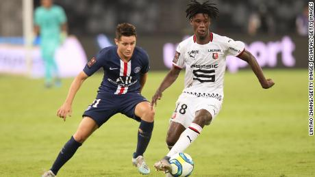 Camavinga has already starred against PSG once this season in the Champions Cup defeat.