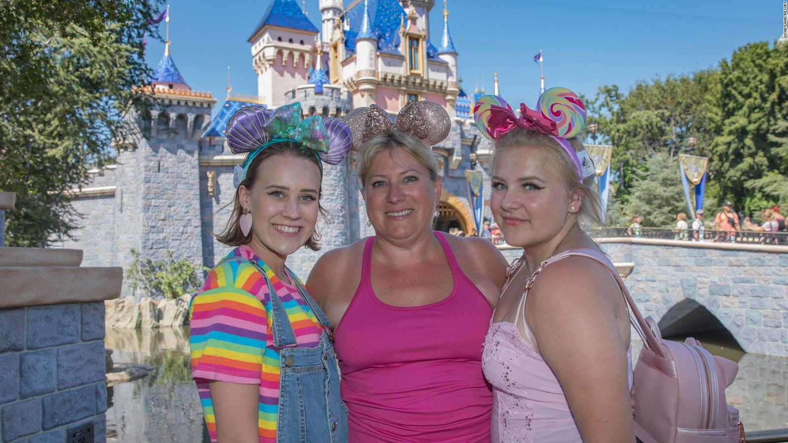 Disneyland Honors Woman S Free Admission Ticket From 1985 Cnn Travel
