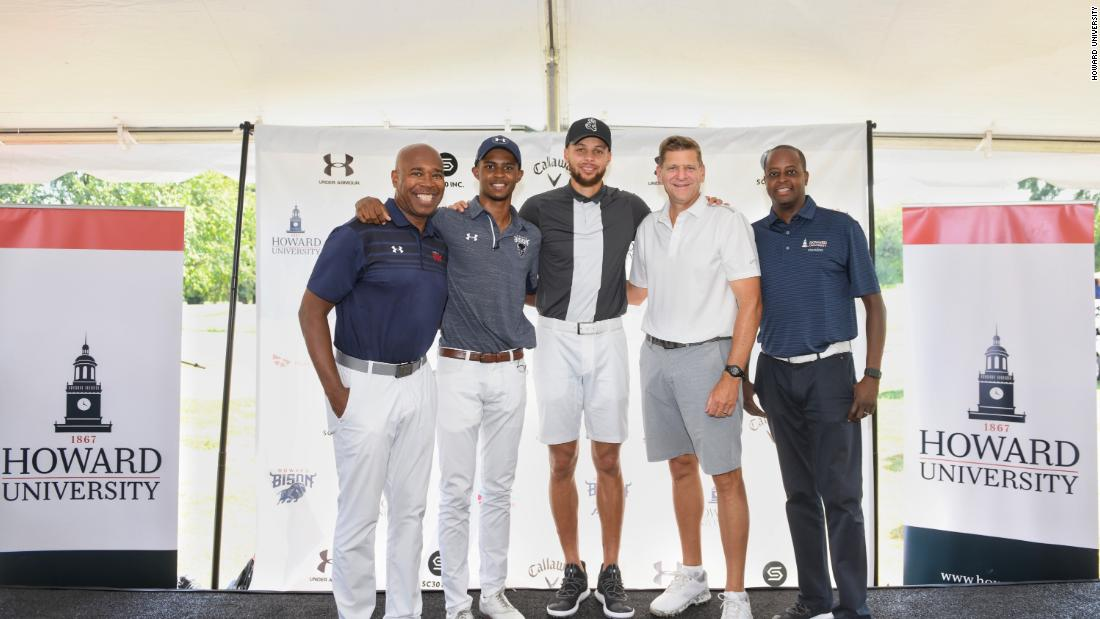 Golf is more than a sport. It's a shot at upward mobility -- and Steph Curry understands that