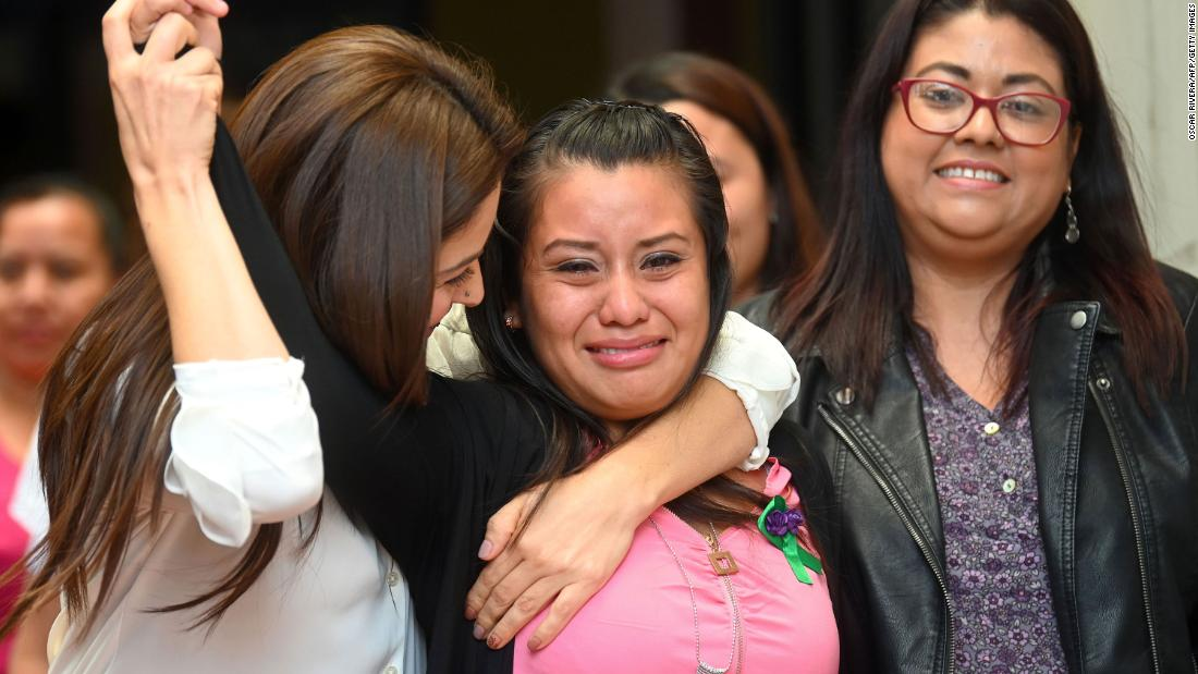 Salvadoran woman at center of controversial abortion trial acquitted of all charges