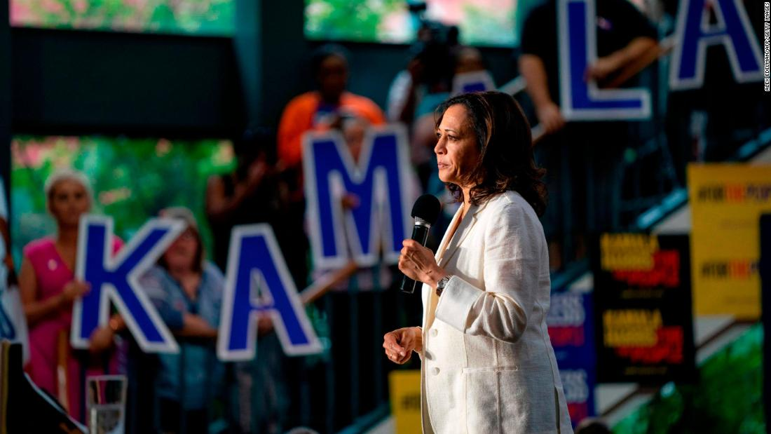 Is it panic time for Kamala Harris?