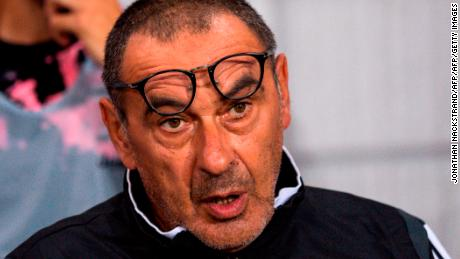 Juventus' head coach Maurizio Sarri has been diagnosed with pneumonia and is in doubt for the Serie A season opener this weekend.