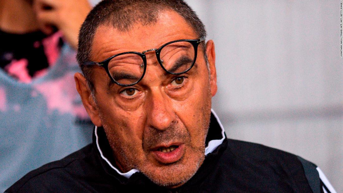 Maurizio Sarri diagnosed with pneumonia, in doubt for season opener