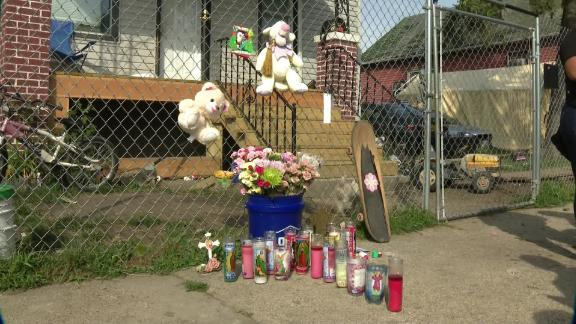 A memorial to Emma has been placed her neighborhood.