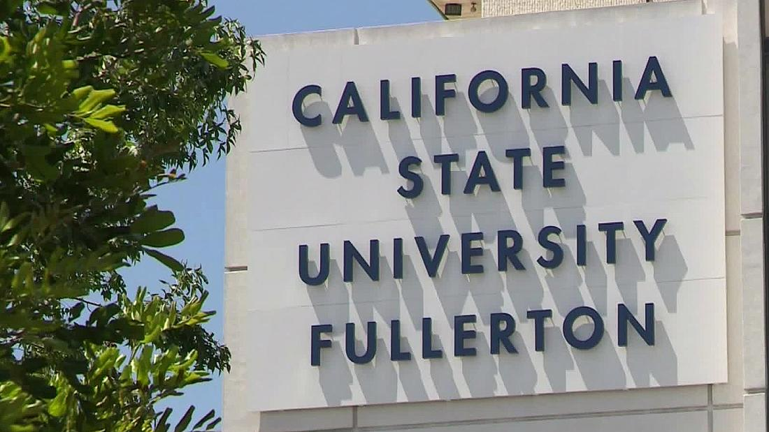 Police will give an update on the fatal stabbing of a retired Cal State Fullerton administrator