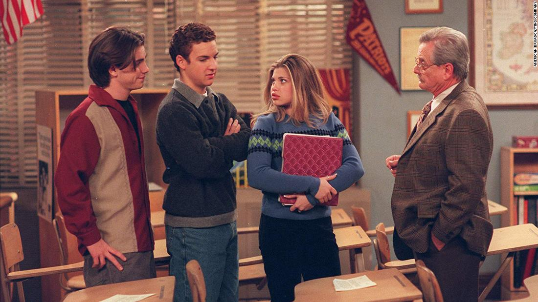 The 'Boy Meets World' cast reunion shows just how much TV can inspire a generation