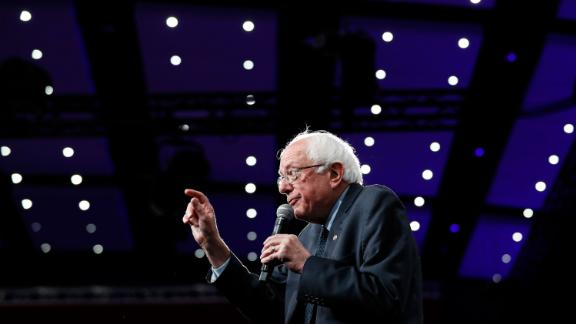 Democratic presidential candidate Sen. Bernie Sanders speaks at the Presidential Gun Sense Forum, Saturday, August 10, 2019, in Des Moines, Iowa.
