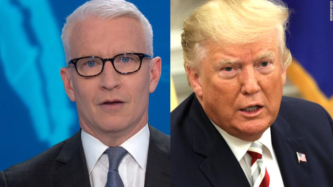 Trump's head-spinning flip stuns Anderson Cooper