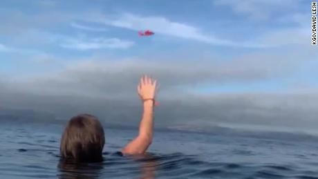Two rescued by Coast Guard after plane crash into Half Moon Bay