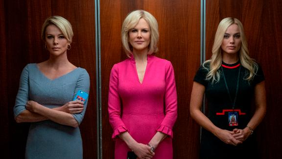 Charlize Theron, Nicole Kidman and Margot Robbie in the teaser for