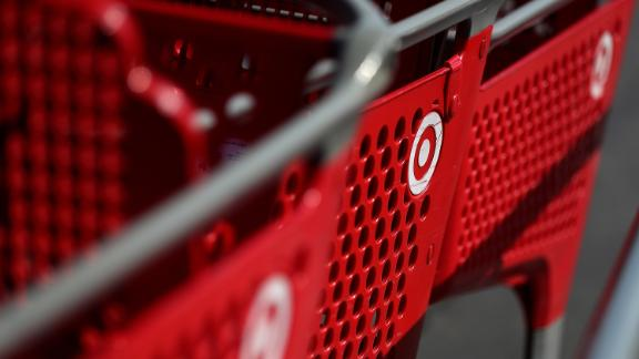 SOUTHGATE, CA - FEBRUARY 28:  The Target logo is displayed on shopping carts at a Target store on February 28, 2017 in Southgate, California. Target reported a 4.3 percent decline in fourth quarter earnings with revenue of $20.69 billion compared to $21.63 billion one year ago. Target stock fell over 12 percent on the news.  (Photo by Justin Sullivan/Getty Images)