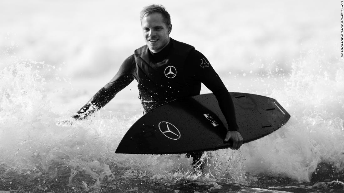 Jurgen Klopp makes waves by welcoming surfer into Liverpool camp