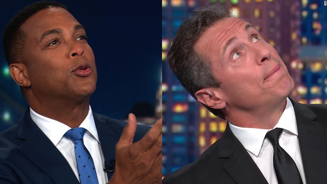 Lemon and Cuomo imagine Trump prepping 'chosen one' line