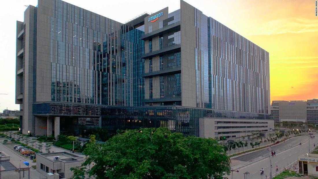 Amazon new Hyderabad campus is its largest global office